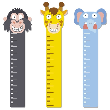 height chart: cute bumper children meter wall