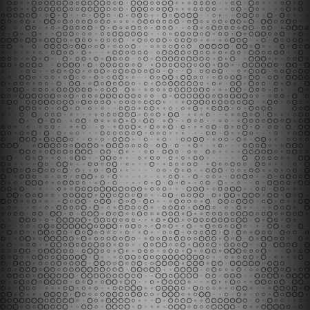doted: abstract dots background. iron.