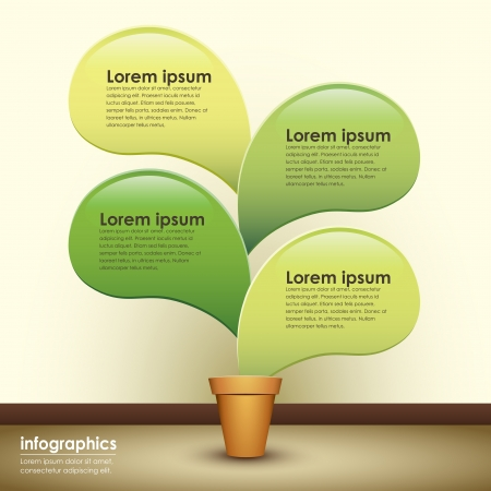 abstract 3d paper infographics. can be used for workflow layout, diagram, number options, web design.