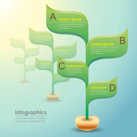 vector abstract 3d paper infographics. can be used for workflow layout, diagram, number options, web design. Stock Vector - 21772039