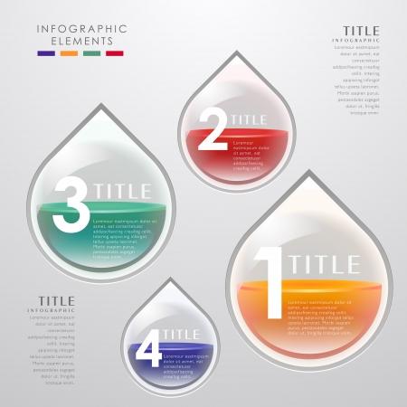 Extracto del vector 3d infografía papel. se puede utilizar para el diseño del flujo de trabajo, diagrama, opciones de número, diseño de páginas web. Foto de archivo - 21772123