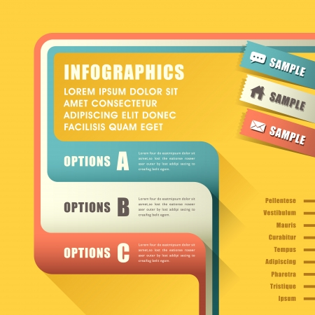 modern vector abstract infographic elements design Vector