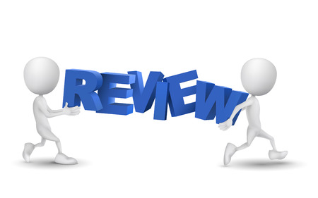 assessing: two people carried a word review