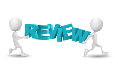 evaluating: two people carried a word review