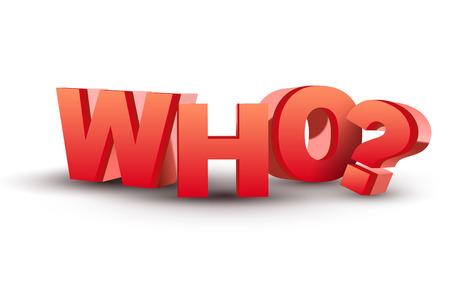 mensuration: Le mot qui en lettres rouges en 3D isol� blanc