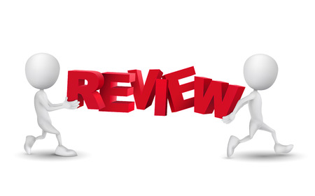 evaluate: two people carried a word review