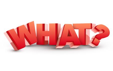 mensuration: Le mot Ce qui avec un point d'interrogation