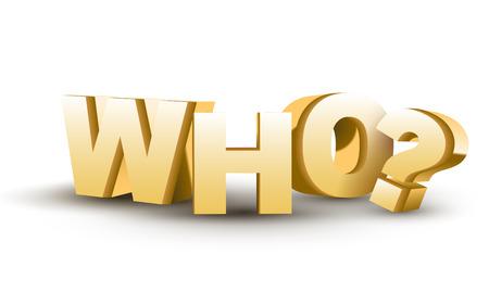 mensuration: Le mot qui en lettres d'or 3D isol� sur fond blanc Illustration