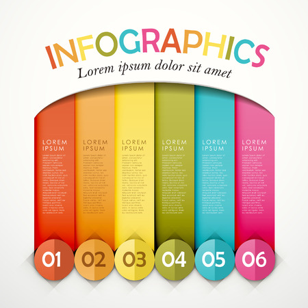modern vector abstract origami option infographic elements Vector