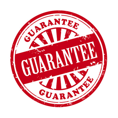 authorized: illustration of grunge rubber stamp with the text guarantee written inside