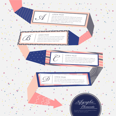 vector illustration abstract creative flow chart infographics design