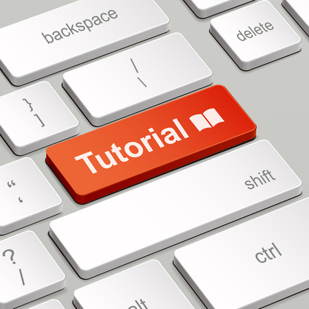 message on keyboard enter key, for tutorial concepts