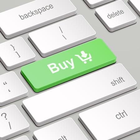 tecla enter: mensaje en el teclado tecla enter, para los conceptos de compras en línea