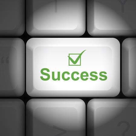 enter key: message on keyboard enter key, for success concepts
