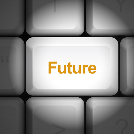 prognosis: message on keyboard enter key, for future time concepts