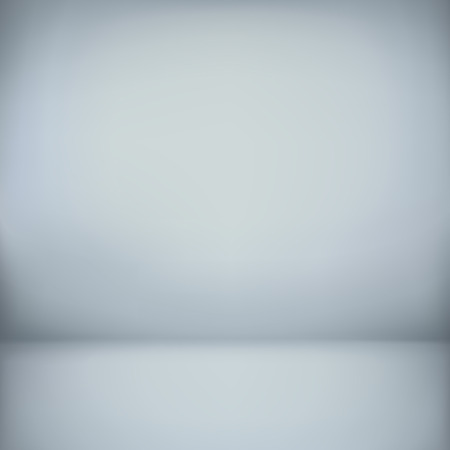 plain: abstract illustration background texture of light gray and blue gradient wall, flat floor in empty room.