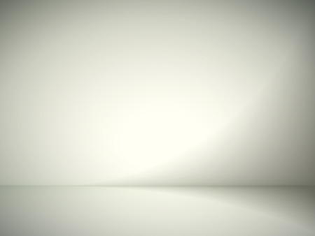 plain: abstract illustration background texture of yellow and gray gradient wall, flat floor in empty room.