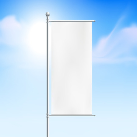 clear sky: blank billboard, road sign with clear sky