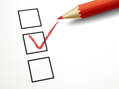 marking up: cerrar hasta mirar pluma roja marca en la casilla de verificaci�n