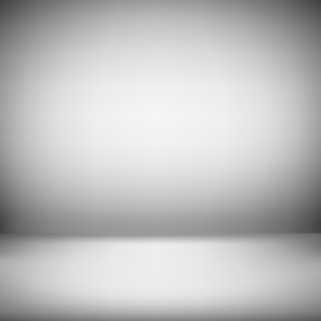 studio picture: Abstract illustration background texture of gradient wall and flat floor in empty spacious room interior