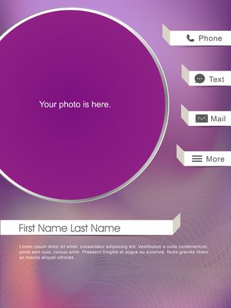 app user interface design in modern style Vector
