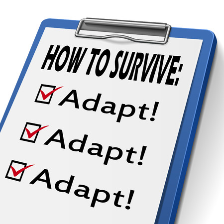 surviving: how to survive clipboard with check boxes marked for adapt