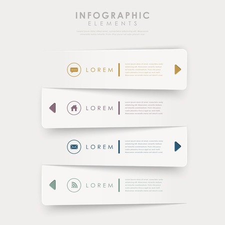 data flow: modern design banners template infographic elements isolated on white