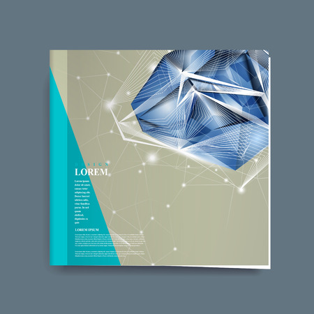 priceless: modern design for book cover with diamond element Illustration