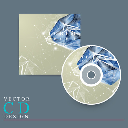priceless: modern design for CD cover with diamond element