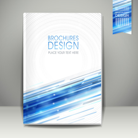 futuristic technology: abstract technology background design for book cover template