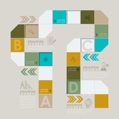 Coloré jeu de société ou de la conception de l'élément infographique flux de travail Banque d'images - 33047295
