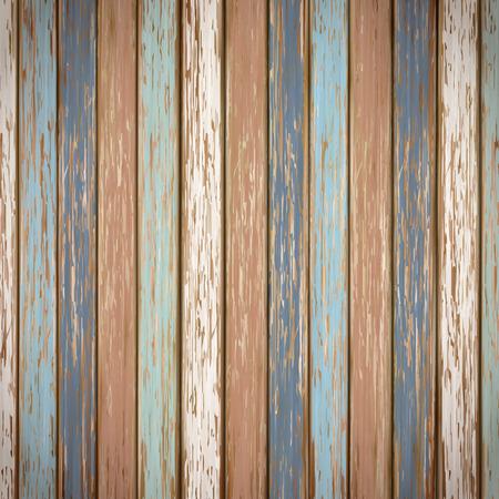 クローズ アップ見てレトロなカラフルな木製テクスチャ背景