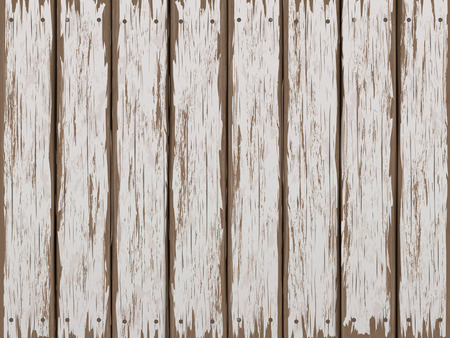 weathered: close-up look at retro white wooden texture background