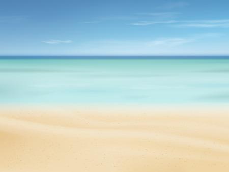 sunshine: hermosa arena de escena de la playa de fondo con un gran clima