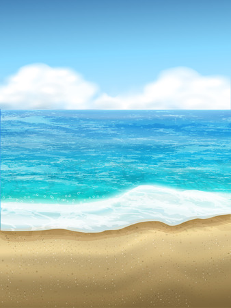 desert sun: beautiful sand of beach scene background with great weather