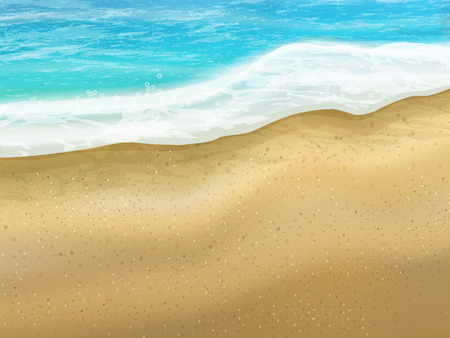 white sand beach: beautiful sand of beach scene background with great weather