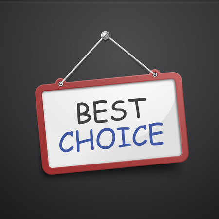 famous people: best choice hanging sign isolated on black wall