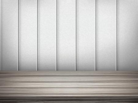 closeup: close-up look at empty interior wooden wall and floor