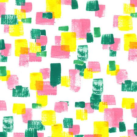 pink green: atractivo mosaico de fondo la forma de acr�lico pintado en rosa, verde y amarillo
