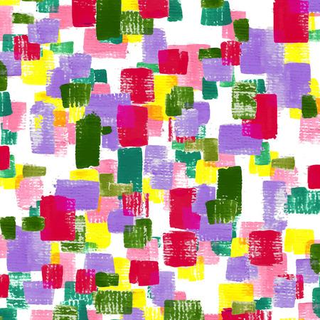 pink green: atractivo mosaico de fondo la forma de acr�lico pintado en rosa, verde, amarillo y rojo Vectores