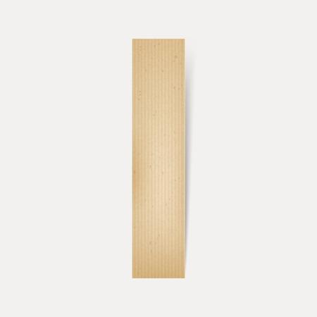 papier a lettre: 3d �l�gante lettre de papier pli�, je isol� sur fond beige