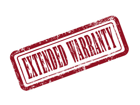 lifetime: stamp extended warranty in red over white background