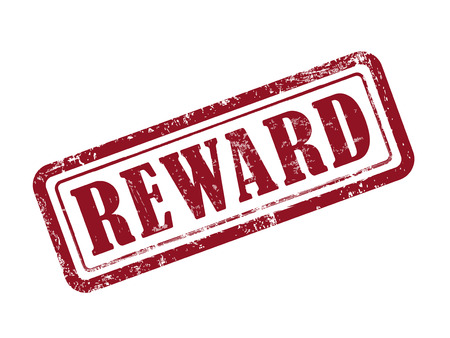 rewards: stamp reward in red over white background