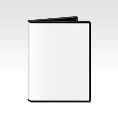 dvd box: CD or DVD box isolated on grey background