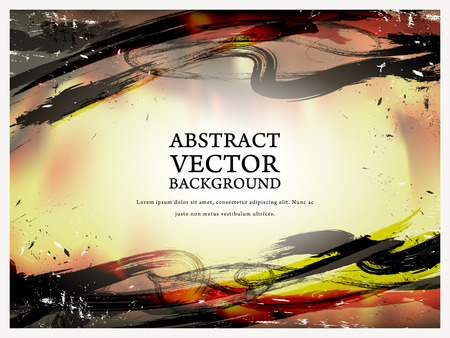 style background: abstract calligraphy style background with ink strokes