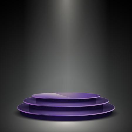 platforms: gorgeous performance platform isolated on illuminated background