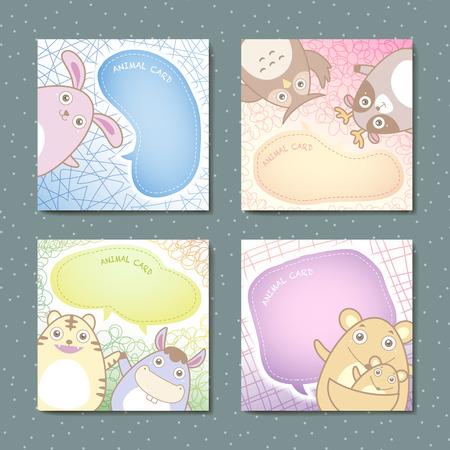 memo pad: adorable animal memo pads set for children