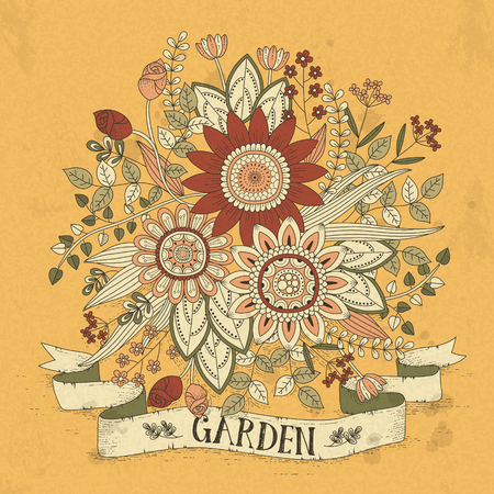 exquisite: splendid flower coloring page in exquisite style