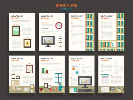 brochure template office