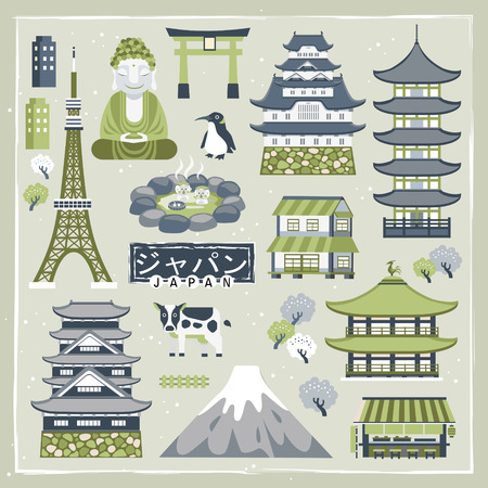 an island tradition: lovely Japan traveling collections - Japan in Japanese words